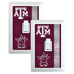 Texas A&M Aggies 2-Pack Nightlight Light Switch