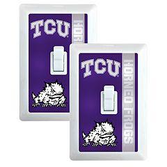 TCU Horned Frogs 2-Pack Nightlight Light Switch