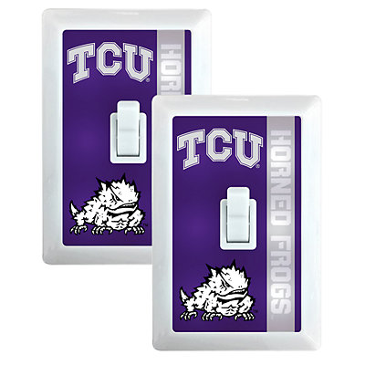 TCU Horned Frogs 2-Pack Nightlight Light Switch