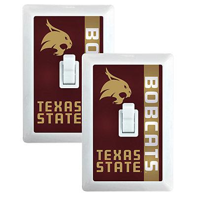 Texas State Bobcats 2-Pack Nightlight Light Switch