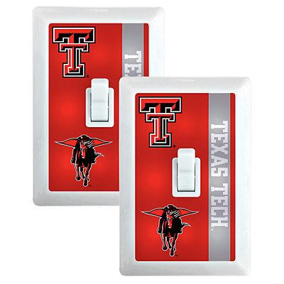 Texas Tech Red Raiders 2-Pack Nightlight Light Switch