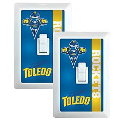 Toledo Rockets 2-Pack Nightlight Light Switch