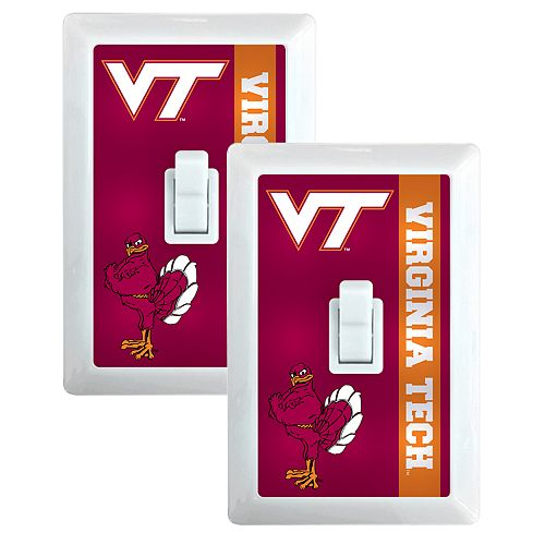Virginia Tech Hokies 2-Pack Nightlight Light Switch