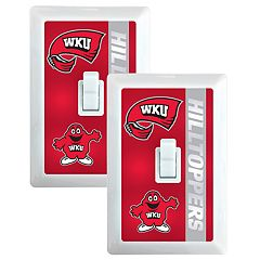 Western Kentucky Hilltoppers 2-Pack Nightlight Light Switch