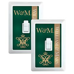 William & Mary Tribe 2-Pack Nightlight Light Switch