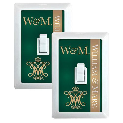 William & Mary Tribe 2-Pack Nightlight Light Switch