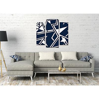 Dallas Cowboys 3-Piece Wall Art