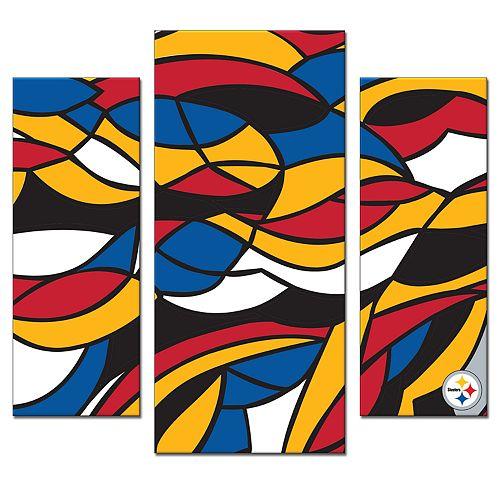 Pittsburgh Steelers 3-Piece Wall Art