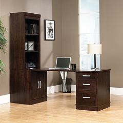 Sauder Office Port Desk & Bookcase