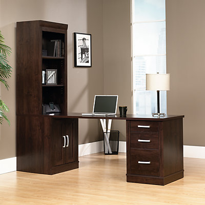 Sauder Office Port Desk & Bookcase