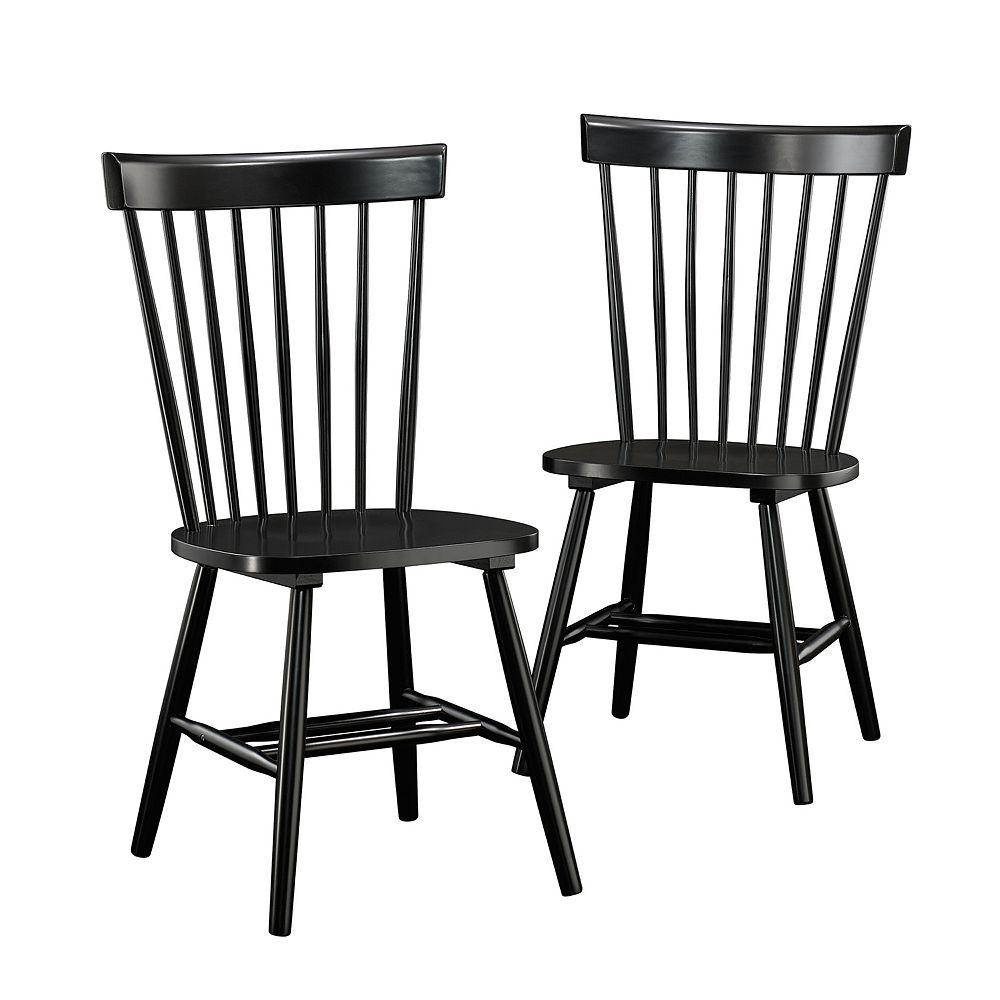Sauder New Grange Spindle Back Dining Chair 2-piece Set