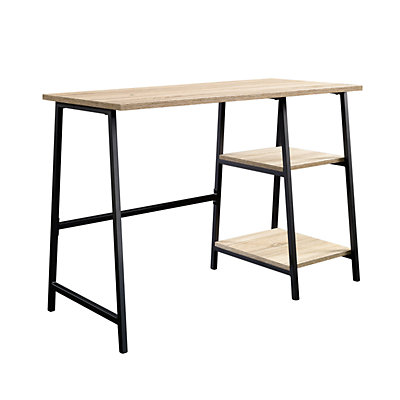 Sauder North Avenue Pedestal Two Shelf Desk