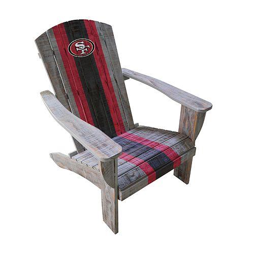San Francisco 49ers Adirondack Chair