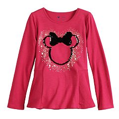Disney's Minnie Mouse Toddler Girl Sequined Graphic Tee by Jumping Beans®