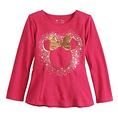 Disney's Minnie Mouse Girls 4-12 Flip-Sequin Graphic Tee by Jumping Beans®