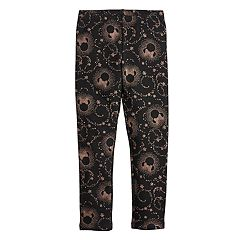 Disney's Minnie Mouse Girls 4-12 Foiled Print Minky Leggings by Jumping Beans®