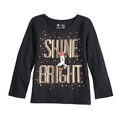 Disney's Minnie Mouse Girls 4-12 'Shine Bright' Sequined Graphic Tee by Jumping Beans®