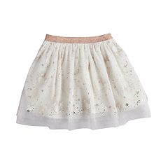 Disney's Minnie Mouse Girls 4-12 Glittery Print Tulle Skort by Jumping Beans®