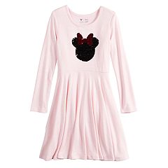 Disney's Minnie Mouse Girls 4-12 Flip-Sequin Skater Dress by Jumping Beans®