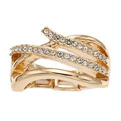 Jennifer Lopez Twist Stretch Ring