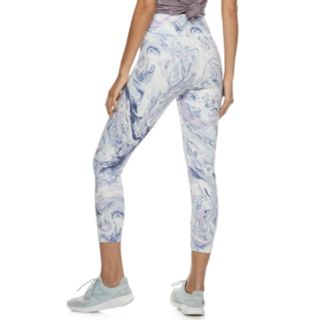 Juniors' SO® Print High-Waisted Yoga Capri Leggings