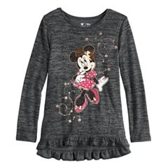 Disney's Minnie Mouse Toddler Girl Ruffled High-Low Top by Jumping Beans®