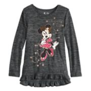 Disney's Minnie Mouse Girls 4-12 Ruffled High-Low Top by Jumping Beans®