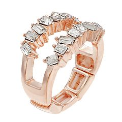 Jennifer Lopez 2-Row Stretch Ring
