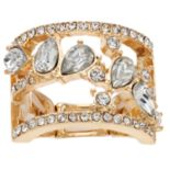 Jennifer Lopez Cluster Stacked Stretch Ring