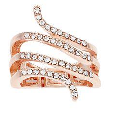 Jennifer Lopez Snake Wrap Stretch Ring