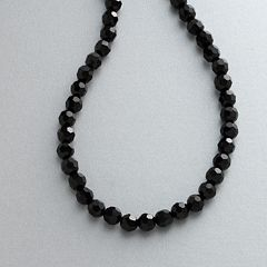 1928® Jet-Tone Black Bead Necklace