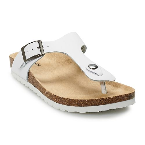 Sonoma Goods For Life Porcelain Thong Slide Sandals