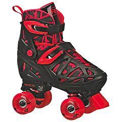 Roller Derby Trac Star Youth Boy's Adjustable Roller Skates