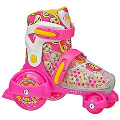Roller Derby Fun Roll Girl's Jr Adjustable Roller Skates