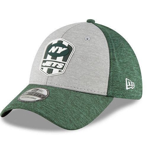 Adult New Era New York Jets Sideline Team 39THIRTY Flex-Fit Cap 951e70d79ac