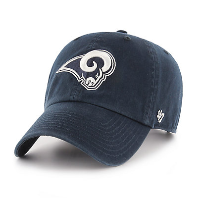 Adult '47 Brand Los Angeles Rams Clean Up Adjustable Cap