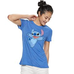 Disney's Lilo & Stitch Juniors' Graphic Tee
