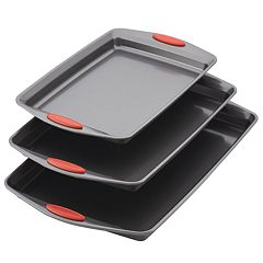 Rachael Ray Nonstick Bakeware 3-piece Cookie Pan Set