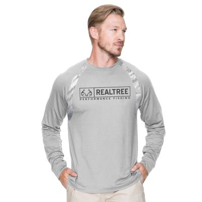 Men's Realtree Performance Fishing Tee