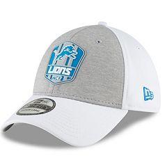 Adult New Era Detroit Lions Sideline Team 39THIRTY Flex-Fit Cap
