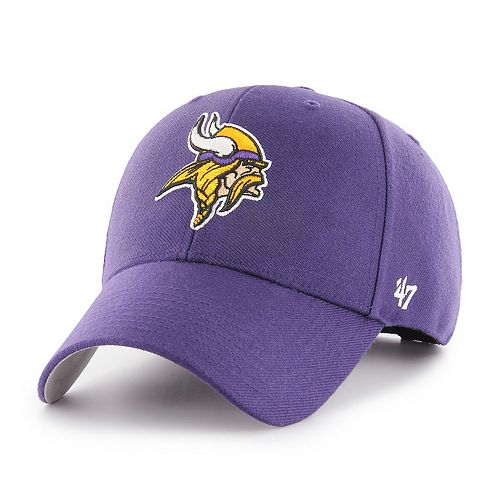 Adult '47 Brand Minnesota Vikings MVP Adjustable Cap