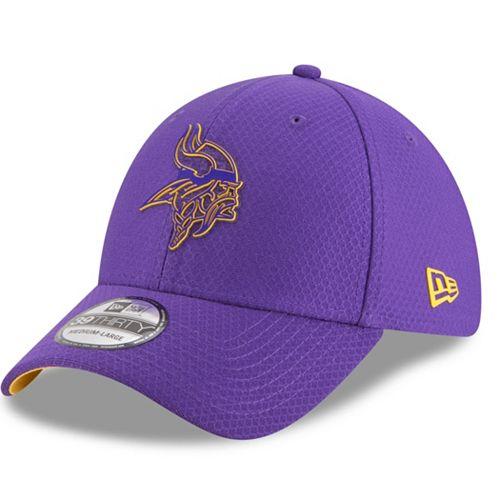 Adult New Era Minnesota Vikings Training 39THIRTY Flex-Fit Cap