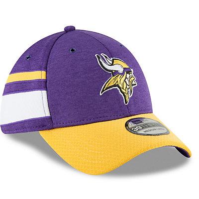 Adult New Era Minnesota Vikings Sideline Home Official 39THIRTY Flex-Fit Cap