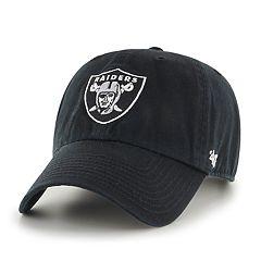 2d750b02a Adult  47 Brand Oakland Raiders Clean Up Adjustable Cap