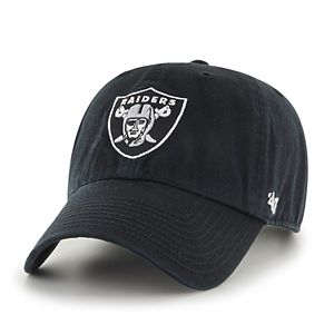 Adult '47 Brand Oakland Raiders Clean Up Adjustable Cap