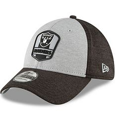 Adult New Era Oakland Raiders Sideline Team 39THIRTY Flex-Fit Cap