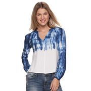 Women's Rock & Republic® V-neck Challis Top