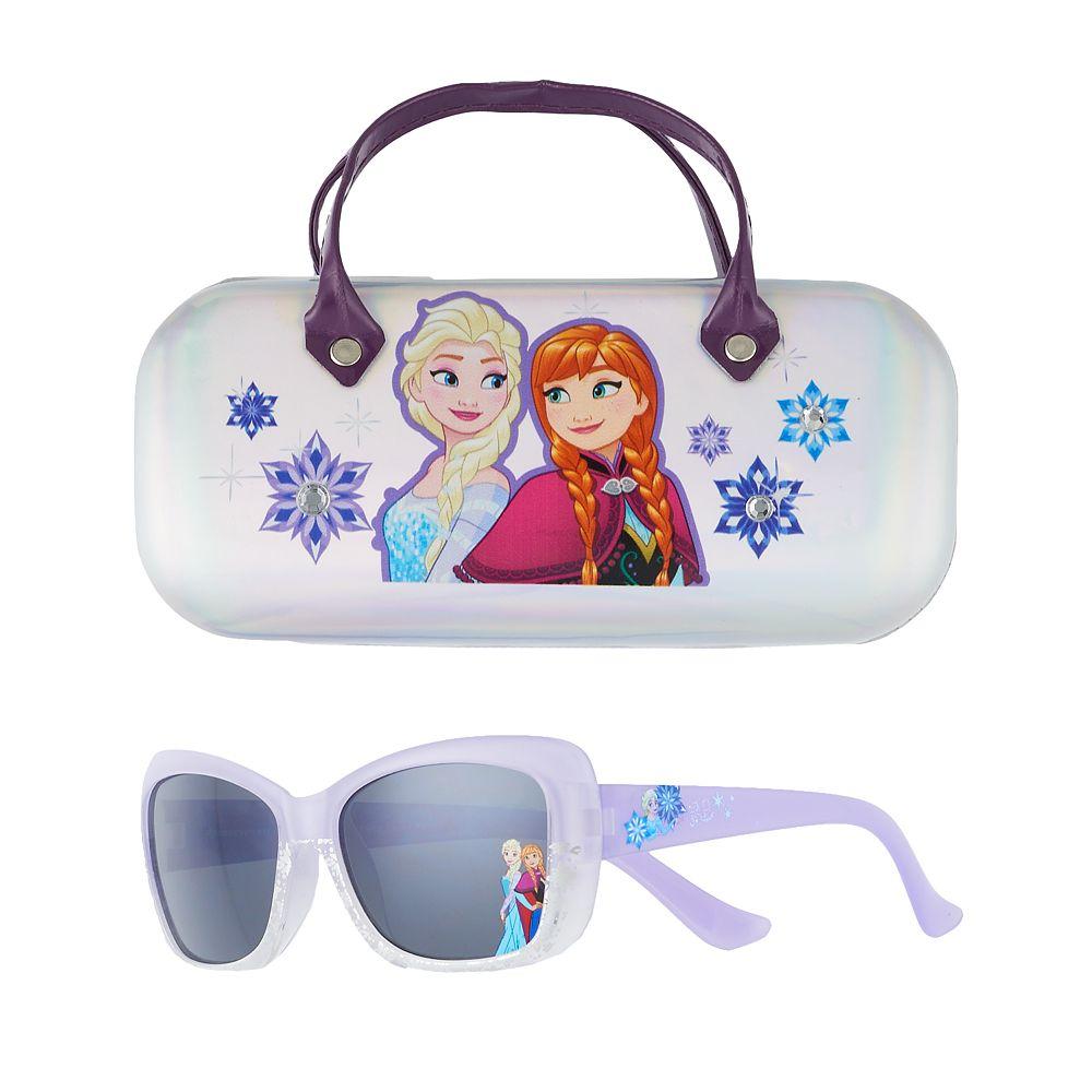 Disney's Frozen Anna & Elsa Girls 4-16 Sunglasses & Case Set