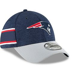 Adult New Era New England Patriots Sideline Home Official 39THIRTY Flex-Fit Cap