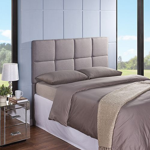 Grid Upholstered Headboard